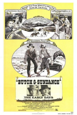 Butch and Sundance The Early Days 1979 poster