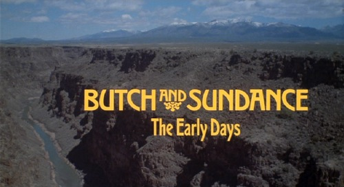 Butch and Sundance The Early Days title card
