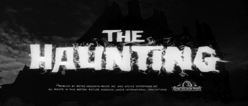 Haunting 1963 title card