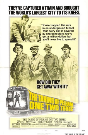 Taking of Pelham One Two Three 1974 poster
