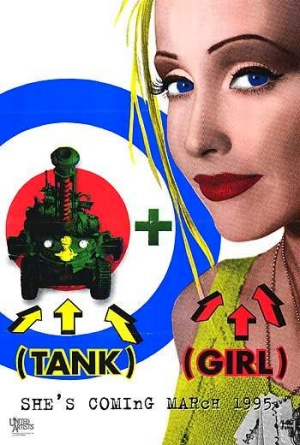 Tank Girl 1995 poster A