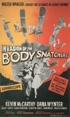 Invasion of the Body Snatchers 1956 poster A