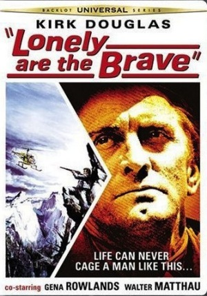Lonely Are the Brave 1962 dvd