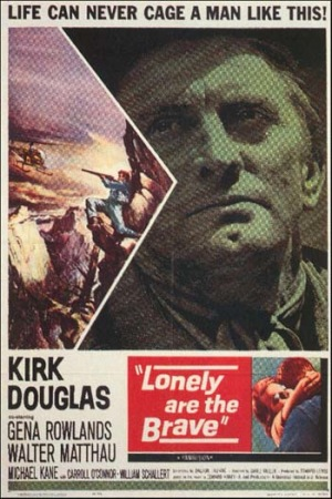Lonely Are the Brave 1962 poster