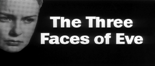 Three Faces of Eve 1957 title card