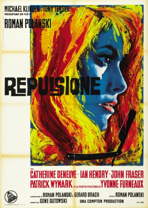 Repulsion 1965 French poster